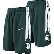 Nike Youth Michigan State Spartans Green Replica Basketball Shorts