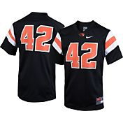 Nike Youth Oregon State Beavers Black #42 Game Football Jersey