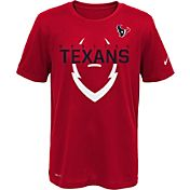 Nike Youth Houston Texans Sideline 2016 Legend Icon Red Performance T-Shirt