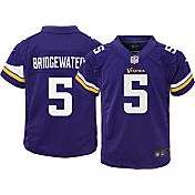 Nike Toddler Home Game Jersey Minnesota Vikings Teddy Bridgewater #5