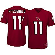 NFL Team Apparel Youth Arizona Cardinals Larry Fitzgerald #11 Red T-Shirt
