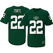 NFL Team Apparel Youth New York Jets Matt Forte #22 Performance Green T-Shirt