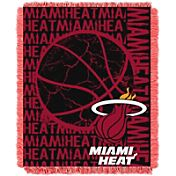 Northwest Miami Heat Double Play Blanket