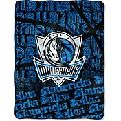 Northwest Dallas Mavericks Redux Micro Raschel Throw Blanket