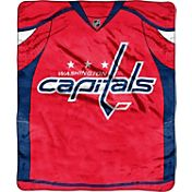 Northwest Washington Capitals Raschel Blanket