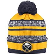 Old Time Hockey Men's Buffalo Sabres Clay Navy Cuffed Knit Hat