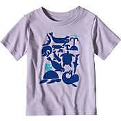 Patagonia Toddler Girls' Live Simply Sea Buds T-Shirt