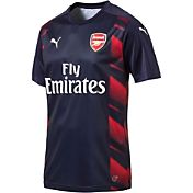 PUMA Men's Arsenal 17/18 Replica Red/Navy Jersey
