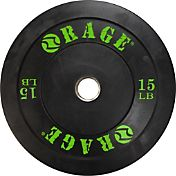 Rage 15 lb. Olympic Pro Bumper Plate