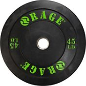 Rage 45 lb. Olympic Pro Bumper Plate