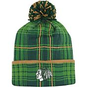 Reebok Men's Chicago Blackhawks St. Patrick's Day Cuffed Knit Hat