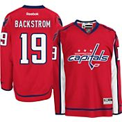 Reebok Men's Washington Capitals Nicklas Backstrom #19 Premier Replica Home Jersey