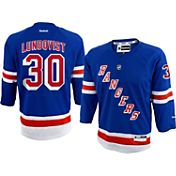 Reebok Youth New York Rangers Henrik Lundqvist #30 Replica Home Jersey