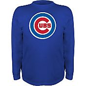 Stitches Youth Chicago Cubs Royal Long Sleeve Shirt