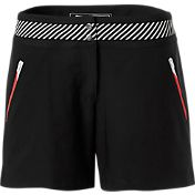 Slazenger Women's Ignite Collection Stripe Waistband Golf Shorts