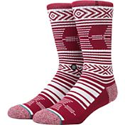 Stance Oklahoma Sooners Striped Socks