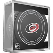 Sher-Wood Carolina Hurricanes Official Game Puck