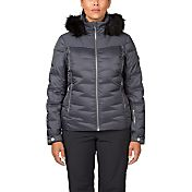 Spyder Women's Falline Faux Fur Down Jacket