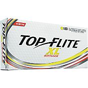 Top Flite XL Distance Yellow Golf Balls – 18-Pack