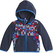 The North Face Infant Boys' Glacier Full Zip Hooded Fleece Jacket