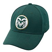 Top of the World Men's Colorado State Rams Green Premium Collection M-Fit Hat