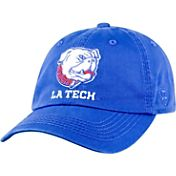 Top of the World Men's Louisiana Tech Bulldogs Blue Crew Adjustable Hat