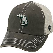 Top of the World Men's Michigan State Spartans Grey/White United Adjustable Snapback Hat