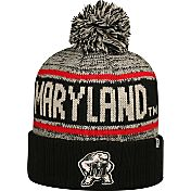 Top of the World Men's Maryland Terrapins Black/White/Red Acid Rain Knit Beanie
