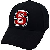 Top of the World Men's NC State Wolfpack Black Premium Collection M-Fit Hat