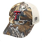 Top of the World Men's Texas Tech Red Raiders Camo Prey Hat