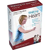 STOTT PILATES Walking for Your Heart 2 DVD Set