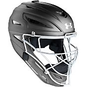 Under Armour Adult Solid Matte Pro Series Catcher's Helmet