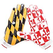 Under Armour Adult Maryland Pipeline Pack Swarm II Receiver Gloves
