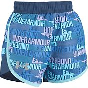 Under Armour Little Girls' Wordmark Fast Lane Shorts