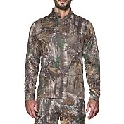 Under Armour Men's Storm Icon Camo Quarter Zip Long Sleeve Shirt