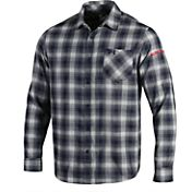 Under Armour Men's Auburn Tigers Blue Plaid Status Button Down Shirt