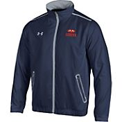 Under Armour Men's Auburn Tigers Blue/Grey Impulse Jacket