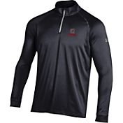 Under Armour Men's South Carolina Gamecocks Black UA Tech Quarter-Zip Shirt