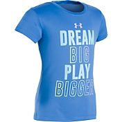 Under Armour Toddler Girls' Dream Big Play Bigger T-Shirt