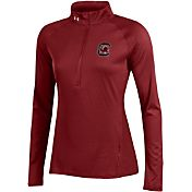 Under Armour Women's South Carolina Gamecocks Garnet UA Tech Quarter-Zip Shirt