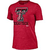 Under Armour Women's Texas Tech Red Raiders Red Triblend T-shirt