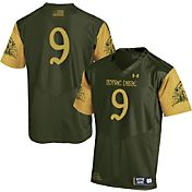 Under Armour Youth Notre Dame Fighting Irish Green #9 Shamrock Series Jersey