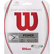 Wilson Synthetic Gut Power 16 Racquet String