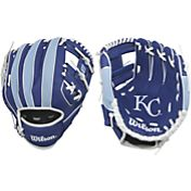 "Wilson 10"" A200 Kansas City Royals T-Ball Glove"