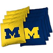 Wild Sports Michigan Wolverines XL Bean Bags