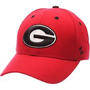 Zephyr Men's Georgia Bulldogs Red Competitor Adjustable Hat