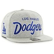 '47 Men's Los Angeles Dodgers Honshu Captain Grey Adjustable Snapback Hat