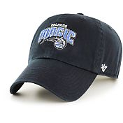 '47 Men's Orlando Magic Black Clean-Up Adjustable Hat