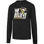 '47 Men's 2017 NHL Stanley Cup Playoffs Pittsburgh Penguins Black Long Sleeve T-Shirt