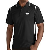 Antigua Men's Super Bowl LI Bound Atlanta Falcons Merit Xtra-Lite Black Polo